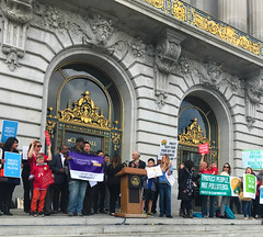 Clean Power Plan Rally in San Francisco