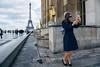 selfie w eiffel (yedman) Tags: paris eiffel selfie candid street europe streetphotography ektar
