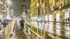 Rainman, Amsterdam (ahwou) Tags: rain wind people amsterdam tram debeijenkorf beijenkorfamsterdam gnc ranin fog man walking regen weerenwind magazijndebeijenkorf damrak berlage beursvanberlage csamsterdam rainman beijenkorf