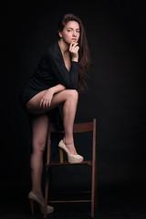 Elina (TRUE.panda) Tags: za zeiss carlzeiss a850 sonnart18135 sony actress portrait
