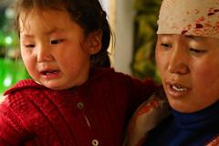 Ladakhi Kids (Rahul Gaywala) Tags: child cute girl hide julley leh ladakh incredible india himalaya pure bliss blessed kashmir jk himachal mountain indus roadtrip wander travel blue sky clouds siachin glacier ice snow cloud adventure himalayanlandscape karakoram kid moriri peek seek tso
