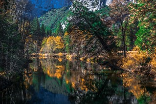 Yosemite National Park . Caiifornia /USA.   Merced River