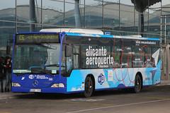 6098 FPN, Alicante Airport, April 15th 2015 (Southsea_Matt) Tags: 6098fpn 581 routec6 mercedesbenz citaro subus alicante airport spain canon 60d april 2015 spring bus omnibus coach passengertravel publictransport vehicle