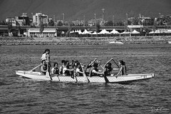 Dragon Boat - False Creek (SonjaPetersonPh♡tography) Tags: vancouver bc britishcolumbia canada nikon nikond5200 falsecreek falsecreekferries scienceworld scienceworldattelusworldofscience telusworldofscience downtownvancouver vancouverskyline cityscape burrardinlet granvilleisland boating kayaking city citycentre tourists dragonboats