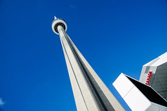 Canada (cescolp) Tags: cntower canada toronto art artist photo artistry photography photograph photooftheday cityscape citycentre citycore city building tower ontario italy italianartist torontometalmusicians torontometal torontometalscene torontomusic torontoartist architecture pov pointofview prime primelens zoom zoomlens telephoto spire structure structures tourist tourism touristy skywalk observationdeck radiotower sky sun cloud naturallight bremnerblvd skydome skyline skyscraper rogerscentre touristattraction futurist modernist postmodern futuristic negativespace painting canvas negative nikon