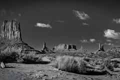 Monument Valley (ausmc_1) Tags: utah landscape desert d800 outdoor monumentvalley bw usa tamronsp2470mmf28usddi