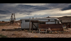 Livin' Large (Whitney Lake) Tags: explore 18 mining decay abandoned trailer goldpoint nevada ghosttown
