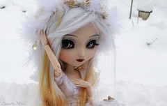 Lina (Lunaria Nfield) Tags: lina pullip cinciallegra wig mohair blanche et blonde custo custom white lady pullips dream