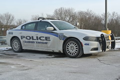 Cranberry Township Police Department (Emergency_Spotter) Tags: cranberry township police department pa pennsylvania dodge dodgelaw law charger sedan hemi 57l v8 rwd single spotlight unit 456 alloy wheelcovers federal signal valor lights