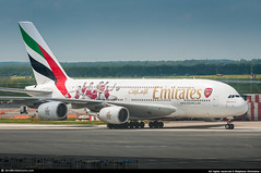 [PRG.2016] #Emirates #EK #Airbus #A388 #A6-EES #Arsenal.FC #AWP (CHR / AeroWorldpictures Team) Tags: emirates airbus a380861 msn 140 eng gp7270 reg a6ees rmk painted arsenalfc history aircraft first flight test fwwad built site toulouse lfbo delivered ek uae leased novusaviationcapital config cabin f14c76y427 special colours theemiratesfacup plane aircrafts airplane gulf airlines airways arab a380 a388 color football uk arsenal planespotting prague prg czech apron aeroworldpictures awp nikon d300s nikkor 70300vr raw lightroom 2016