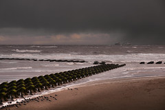 Stormy morn (PentlandPirate of the North) Tags: newbrighton ferries ships merseyside wirral breakwater
