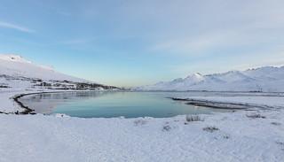 Winter day in Fáskrúðsfjörður