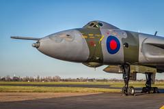 Sunlit Vulcan (Nimbus20) Tags: vulcan avro xl426 essex tle jet bomber bomb aircraft plane aeroplane vintage grounded