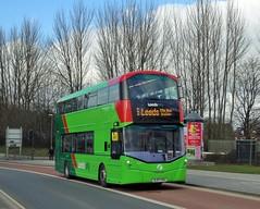 First Leeds Wright StreetDeck SL67 VXH ( 35280 ) (munden.chris) Tags: first leeds wright bus streetdeck mercedesbenz leedscity headingley 35280 sl67vxh hunsletpark