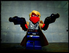Grifter (LegoKlyph) Tags: lego custom brick block mini figure comic book dc wildcats team7 jimlee brandonchoi wildstorm superhero