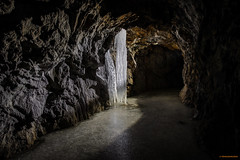Underground ice (MIKAEL82KARLSSON) Tags: övergivet old öde övergiven öraberget örabergsgruvan grängesberg gränges grängesgruva dalarna sverige sweden bergslagen is ice underjord underground pentax k70 mikael82karlsson tamron explore flickr