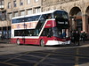 Lothian Volvo B5TL (Euro 6) Wright Eclipse Gemini 3 SF17VNT 482 operating service 26 to Tranent at Princes Street on 21 February 2018. (Robin Dickson 1) Tags: lothian lothianbuses edinburghbuses volvob5tl wrighteclipsegemini3 edinburghzoo sf17vnt
