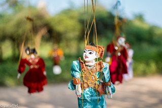 Burmese marionette (Yoke thé)