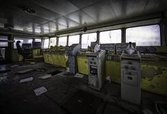 MKP (Martin Kriebernegg) Tags: lost lostplace urban urbex exploration abandoned decay derelict dark creepy forgotten found former old ship technic architectual sea water hdr canon