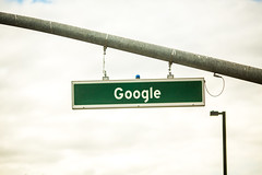 Google (Thomas Hawk) Tags: america bayarea california google googlehq mountainview sfbayarea siliconvalley usa unitedstates unitedstatesofamerica westcoast streetsign us fav10
