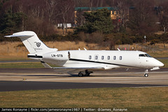 LN-STB | Bombardier Challenger 350 | Sundt Air (james.ronayne) Tags: aeroplane airplane plane aircraft jet biz bizjet private vip corporate executive corpjet execjet bizav business aviation general london farnborough fab eglf canon 80d 100400mm raw