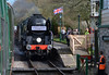 Union Castle Express at Harmans Cross (davids pix) Tags: 34053 sir keith park union castle express west country battleofbritain bulleid southern pacific swanage railway harmans cross boat train 2017 02042017