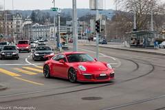 Porsche 991 GT3 (Nico K. Photography) Tags: porsche 991 gt3 red supercars nicokphotography switzerland zürich
