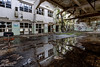8Z1A0802_3_4_5_6-1 (wernkro) Tags: lostplace urbexen verlassen marode spiegelung wasser krokor halle zwiebackfabrik hdr old urban