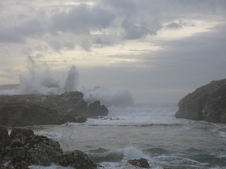Temporal en la Virgen del Mar