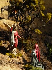 Belén Parroquia Sagrada Familia (Iglesia en Valladolid) Tags: belen nacimiento pesebre navidad
