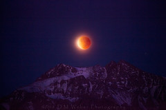 Lunar eclipse, Mt Williamson, 2018 (DM Weber) Tags: 2018 lunar blue moon eclipse mt williamson mount landscape sierra nevada mountains california psa148 dmweber canon eos5dmk2