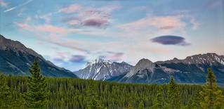 Highwood Pass Panorama