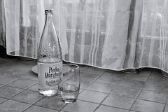Water, what else... ? (Zsofia Nagy) Tags: 7daysofshooting week31 coffeeteaorwhatelsedowedrink blackandwhitewednesday tabletop water mineralwater víz borvíz drink 52in2018challenge flickrlounge saturdaytheme