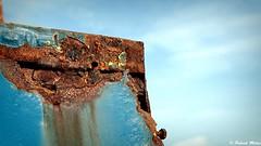 Rusty blue (patrick_milan) Tags: bleu blue rusty decay abandon rouille