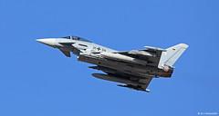 Luftwaffe Eurofighter EF2000 Typhoon 31+34, TLG 31, TLP 2018-1, Albacete AFB/LEAB (Mosh70) Tags: tacticalleadershipprogramme tlp tlp20181 bombardier gfdbombardierlearjet dcgfa albaceteairbase albacete hellenicairforce f16c fightingfalcon f16cfightingfalcon block52 luftwaffe eurofighteref2000typhoon 335mira tlg31