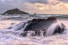 High tide at Heybrook Bay (Alan Lomax Photography) Tags: alanlomaxphotography crashingwaves devon heybrookbay hightide seascape