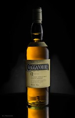 Cragganmore (Claus Preuschoff) Tags: stilllife strobistflashstilllife strobe strobist studiophotography whisky bottle nikkor35f18 d5300 nikon tabletopphotography