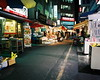 ... (june1777) Tags: snap street seoul gaepodong market night light mamiya 7 n 65mm f4 fuji superia 100 67