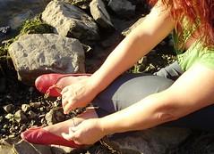 Gigi (4010) (Duke of Slippers) Tags: ballet slippers shoes flats pumps soft soles souliers pantoufles panofole scarpe ballerines ballerinas