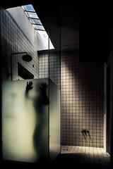 (Vasilis Kotsinis) Tags: decay abandon abandoned silhouette shadow nikon nikond5200 d5200 urban light dark femme female woman shower
