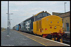 No 37407 21st Feb 2018 Lowestoft (Ian Sharman 1963) Tags: no 37407 21st feb 2018 lowestoft class 37 station diesel engine railway rail railways train trains loco locomotive passenger greater anglia anglian short set drs direct services service east suffolk line