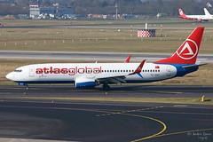 AtlasGlobal (ab-planepictures) Tags: dus düsseldorf eddl flugzeug plane planespotting airport flughafen