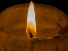 LLama (Alef1961) Tags: vela candle llama fire fuego lessthananinch macro macrofotografia macromondays