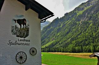 Allgäu, Oberstdorf, - Spielmannsau, 76143/9450