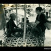 Photograph by Oskar Speck depicting two women at a chicken market stall
