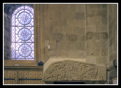 Saxon Tympanum and Norman Window (veggiesosage) Tags: southwell southwellminster nottinghamshire aficionados gx20 grade1listed cathedral minster