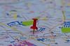 Paper Towns (Chandana Witharanage) Tags: srilanka southasia macromondays myfavouritenovelfiction novelwrittenbyjohngreen macrophotography macro map pin tabletop fiction reading novel