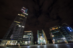 Köln Night0074 (schulzharri) Tags: köln cologne deutschland mediapark germany stadt city hochhaus skyscraper night light licht nacht dunkel