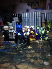 Strange Apparitions (Lord Allo) Tags: lego batman dc hugo strange apparitions rupert thorne deadshot doctor phosphorus silver st cloud joker