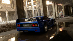 F40 Abandoned Factory (jandengel) Tags: granturismo gt gts car scapes game ps4 polyphony ferrari f40 abandoned lost place lostplace factory